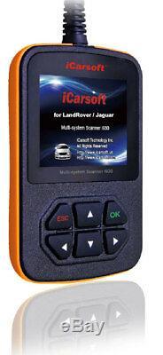ICarsoft i930 für Land Rover Jaguar OBD Diagnosegerät Motor Getriebe ABS Airbag