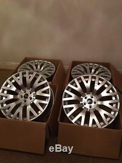 Kahn 22 Range Rover Vogue Sport Discovery L405 L494 L322 Alloy Wheels Bnib