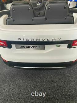 Kids Licensed Range Land Rover Discovery 12V Electric Ride On Car Remote 2 Seat