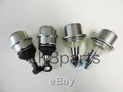LAND ROVER DISCOVERY 2 RANGE P38 UPPER & LOWER BALL JOINT SET x4 FTC3570 FTC3571