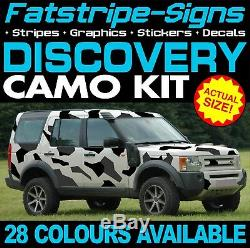 LAND ROVER DISCOVERY GRAPHICS CAMO STICKERS DECALS CAMOUFLAGE STRIPES 4x4 2 3 4