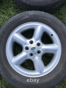 Land Range Rover Alloy Wheels 4x L322 P38 Discovery3 5 Star Spoke 6750671-7