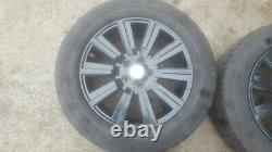 Land Range Rover L322 Discovery L319 Black Alloy Wheel SET 19