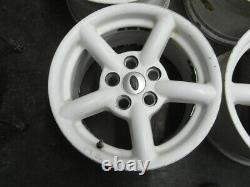 Land Rover 16 8j Alloy ZU Wheels DISCOVERY 2 P38 RANGE ROVER set of 4