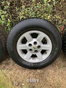 Land Rover Discovery 2 Wheels/tyres 255/65/16,1998-2004 fit P38 Range Rover