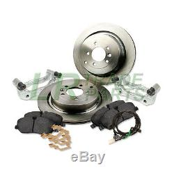 Land Rover Discovery 3 Tdv6 To V8 Front Larger Brake Disc Upgrade Kit Discs Pads