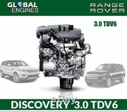 Land Rover Discovery 4 3.0 Tdv6 Engine Supply & Fitted