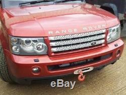 Land Rover Lr3 / Lr4 / Range Rover Sport 05-09 Front Bumper Discreet Winch Mount
