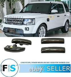 Land / Rover Range Rover Sport Led Side Indicators Light Repeaters Smoked Lens
