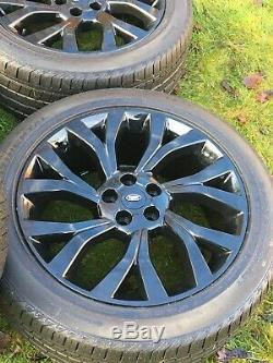 Land Rover Range Rover Sport Vogue Discovery 21 Alloy Wheels Conti Tyres Rims