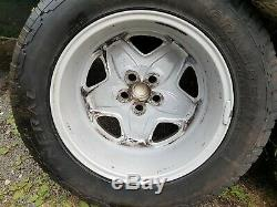 Land Rover discovery 2 Td5 V8 Range Rover P38 Mondial Alloy Wheels 18 Inch x1