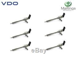 Landrover Discovery 3 Fuel Injector 2.7 TDV6 New Genuine VDO Injector Set of 6