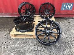 Landrover Vogue Range Rover Sport Evoque 20 Aluwerks Spyder Black Alloy Wheels
