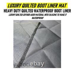 Luxury Quilted Waterproof Boot Liner LAND ROVER RANGE ROVER SPORT 2005 2016