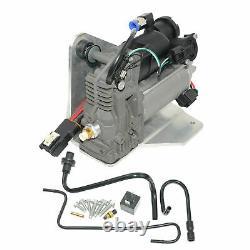 NEW AMK Type Air Compressor PUMP&Relay for Land Rover LR3 LR4 Range Rover Sport