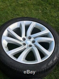 New 22 Genuine Land Rover Discovery 5 Style 5011 Alloy Wheels Pirelli Tyres