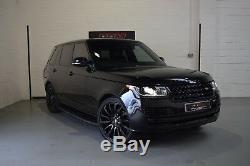 Range Rover 22 Turbine Alloy Wheels Sport Discovery Stealth Black Vogue L405