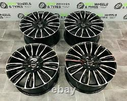 Range Rover Evoque 22'' Alloy Wheels 9007 style Sport With New Tyres Set of 4
