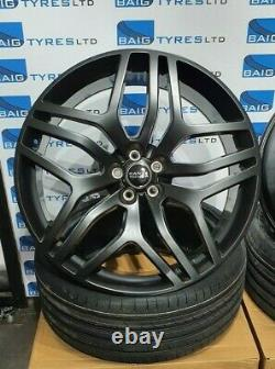 Range Rover Evoque 22inch Alloy Wheels & New Tyres Discovery Sport Satin Black