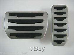 Range Rover Evoque Discovery Sport Stainless Steel Pedal Pad Covers Genuine