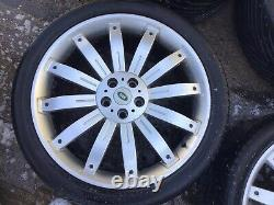 Range Rover Overfinch Tiger Style 22 Alloy Wheels, Undamaged, fit Discovery Td5