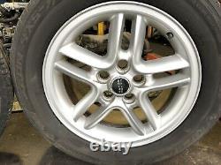 Range Rover P38 18 Hurricane Alloy Wheels Tyres 255/55/18 94-02 Discovery 2 Vgc