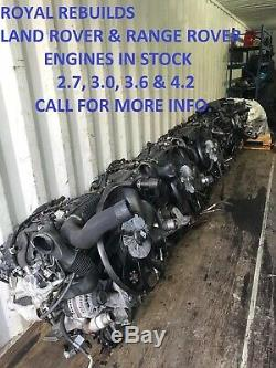 Range Rover Sport 3.0 Engine 2012-2019 Supplied And Fitted £2995 12mth Warranty