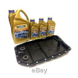 Range Rover Sport Zf Automatic 6 Speed Gearbox Sump Pan Filter & Ravenol Oil Kit