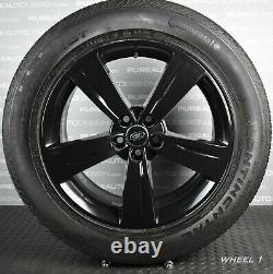 Range Rover Velar 19 Viper Black Alloy Wheels And Continental Mud & Snow Tyres