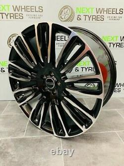 Range Rover Velar 22'' Alloy Wheels 9007 style Sport With New Tyres Set of 4