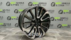 Range Rover Vogue 22'' Alloy Wheels Turbine 7 style Sport With New Tyres X4