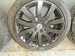 Range rover sport discovery 3/4 20 inch grey alloy wheel with tyres 275/40/r20