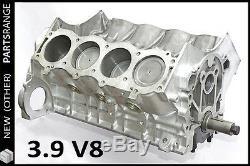 Rover V8 3.9 Short Engine Block Rebuilt Rover P5 P6 Land Rover Classic Discovery