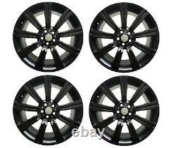 Set 4 Stormer 20 Gloss Black Alloy Wheels Range Rover Sport Discovery Lrc1499
