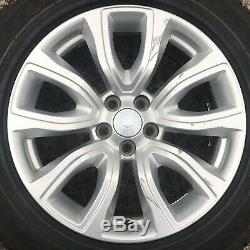 Set 4 x Genuine Range Rover Evoque 18 Alloy Wheels Tyres 235 60 Discovery Sport