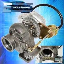 T3/T4 2.5 V-Band. 63AR T04E Hybird Turbo Charger Turbine With Actuator Vband