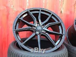 Vw Transporter T5 T6 4 X New 20 Aluwerks Turbine B Alloy Wheels & Tyres