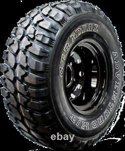 X 4 15 Landrover Discovery 2 Modular Wheels + 33/12.50x15 Mud Terrain Tyres