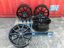 X4 22 Mercedes ALUWERKS SPYD GLE63 Black Style Alloy Wheels ML GL GLE GLS 5x112