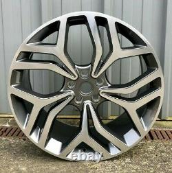 X4 22 Range Rover RR7 Style Alloy Wheels GMF Vogue Sport Discovery 3/4/5