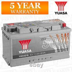 Yuasa Car Battery Calcium 12V 900CCA 100Ah T1 For Land Range Rover Sport 3 TDV6